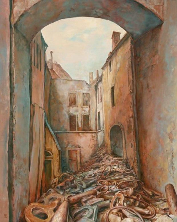 samuel bak 104 Холокост в еврейских картинах Самуила Бака (Samuel Bak)