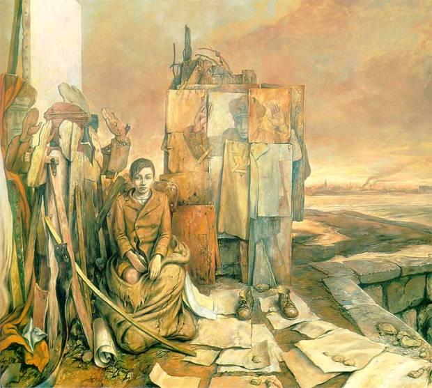 samuel bak 105 Холокост в еврейских картинах Самуила Бака (Samuel Bak)