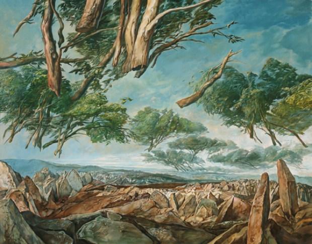 samuel bak 107 Холокост в еврейских картинах Самуила Бака (Samuel Bak)