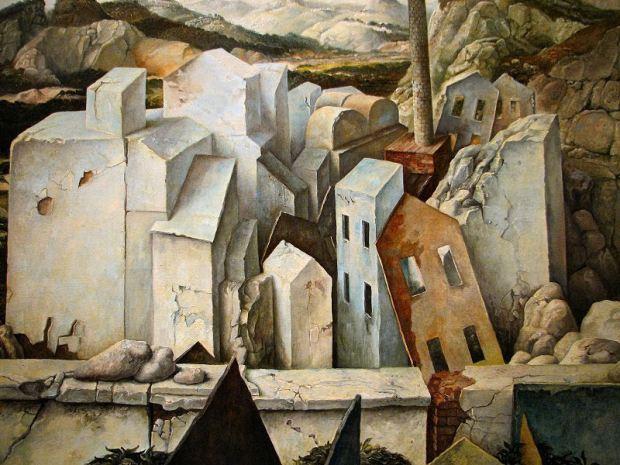 samuel bak 109 Холокост в еврейских картинах Самуила Бака (Samuel Bak)