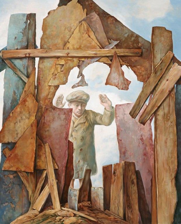 samuel bak 114 Холокост в еврейских картинах Самуила Бака (Samuel Bak)