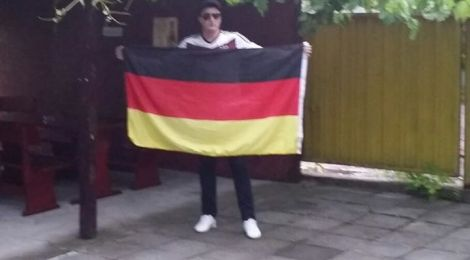 Един двуметров германец в България