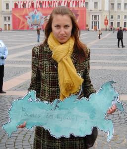 """Ксения Вахрушева, природозащитник и активист на руската либерална партия """"Яблоко"""", член на Инициативния комитет на неправителствения форум за сътрудничество ЕС - Русия"""