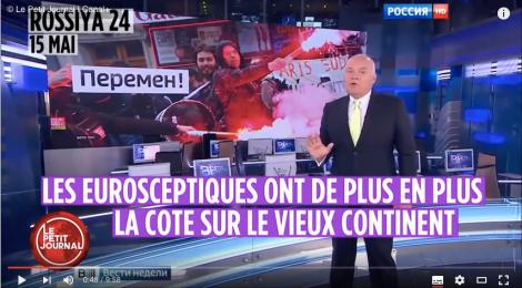 Малка лъжа, голяма лъжа, руска държавна журналистика