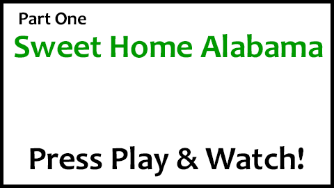It definitely isn't for the faint of heart but will make a great challenge for most advanced players. The Guitar Chords To Sweet Home Alabama