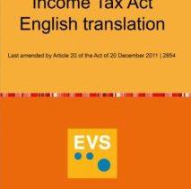 EVS Translations Einkommenssteuergesetz Titel