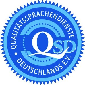 EVS Translations is New Member of Qualitätssprachendienste Deutschlands e.V.