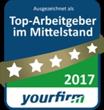 This year, EVS Translations has once again been named as a top medium-sized employer by the Yourfirm.de job board