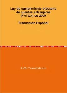EVS Translations предлага FATCA в превод на испанси език