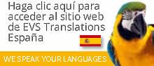 Haga clic aquí para acceder al sitio web de EVS Translations España