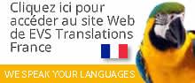 Cliquez ici pour accéder au site Web de EVS Translations France