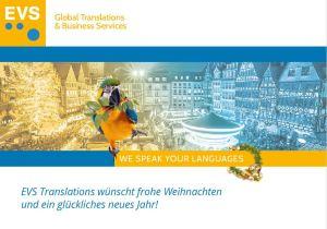 Nachhaltige und frohe Weihnachten wünscht EVS Translations
