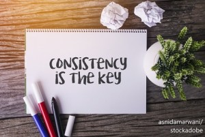 Consistency – Word of the day – EVS Translations