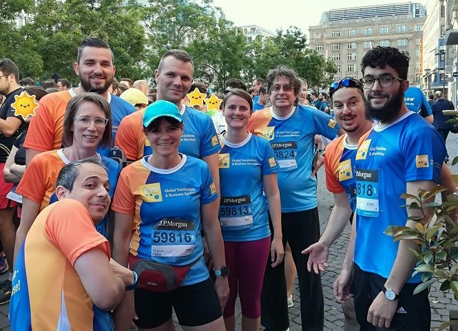 Our motto is to reach our goal together - EVS Translations at JPMCC