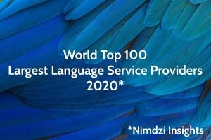 EVS Translations im Nimdzi-100-Ranking der größten Sprachdienstleister der Welt