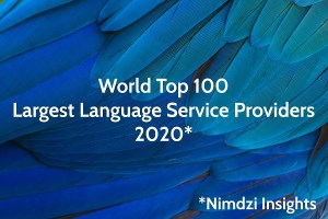 EVS Translations in the Nimdzi 100 Ranking of the Largest Language Service Providers in the World