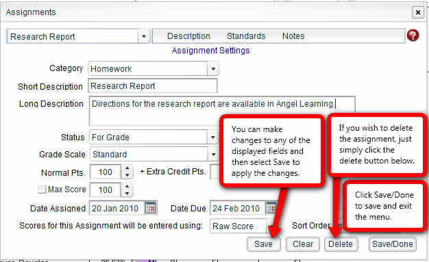 Create Assignment RDS  03a