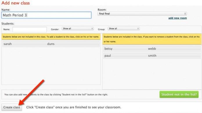 class charts createclass1
