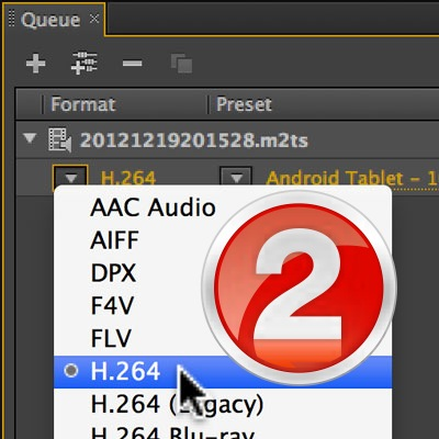 Convert a Video File to a Different Format using Adobe Media