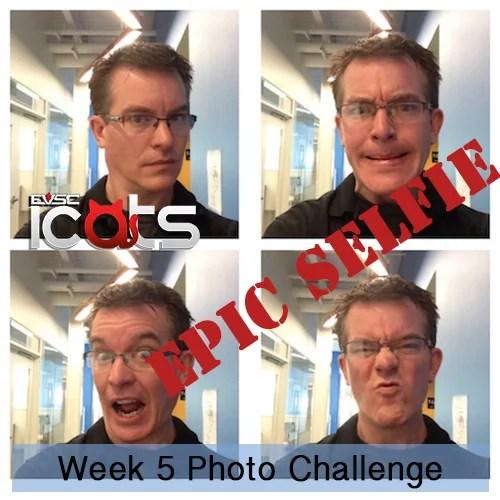 ICATS Photo Challenge- Week 5- Selfie