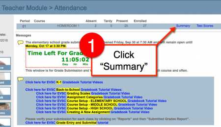 Perfect Attendance - Select Summary