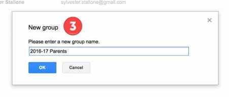 Google Contact Groups - Step 3