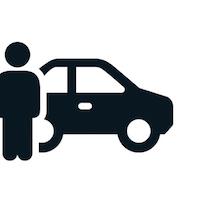 EV car and owner