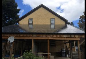 Ian Graham's solar roof