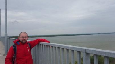 Danube Bridge on the border Calafat-Vidin