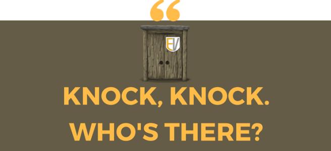 Knock, knock joke – Day 7 – Expressis Verbis – Blog dla