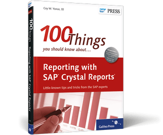 100 Things you need to know about Crystal Reports