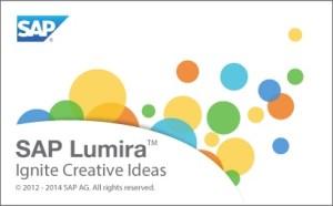 SAP Lumira Splash Screen