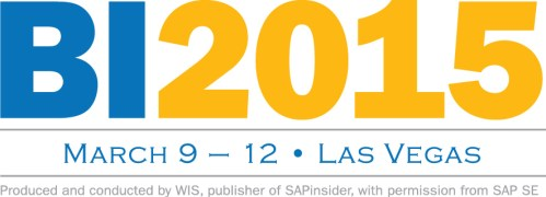 SAP Insider BI2015
