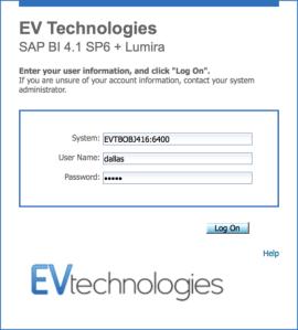EV Technologies Branded BI Launch Pad
