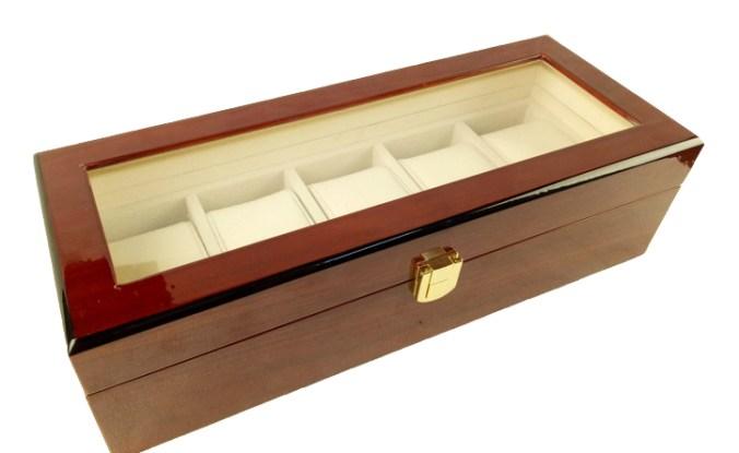 луксозна дървена кутия