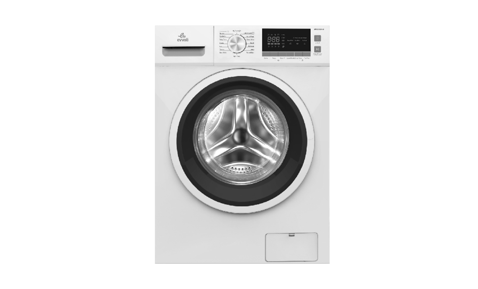 evvoli washing machine EVWMFBLH White