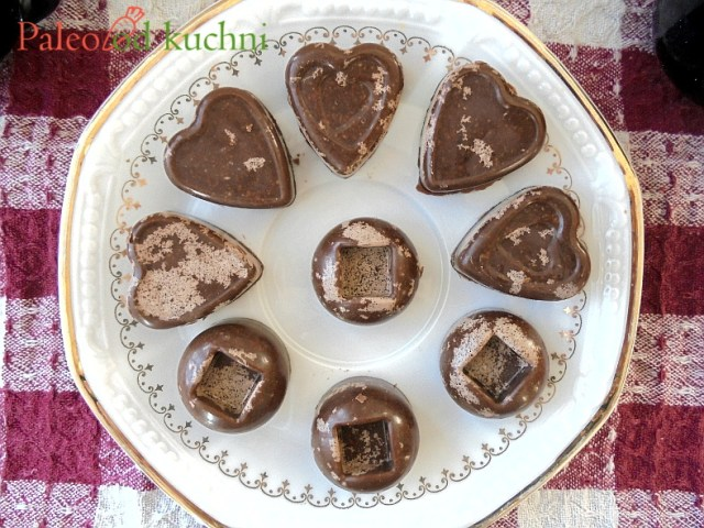 łaciate paleo czekoladki