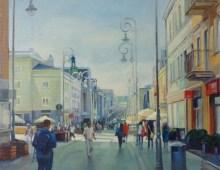 Kielce, Sienkiewicza Street
