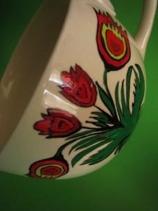 ręcznie malowana porcelana
