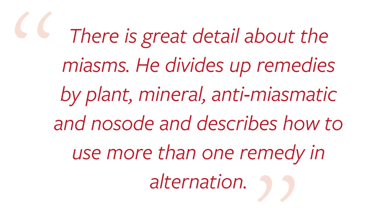 Review Hahnemann's Homeopathy