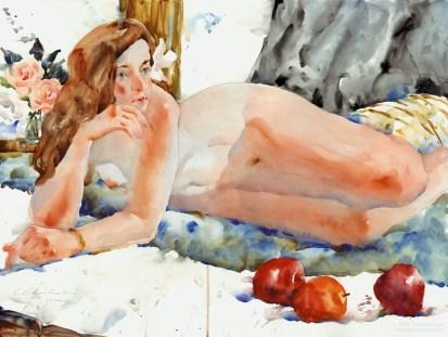 recliningnude43