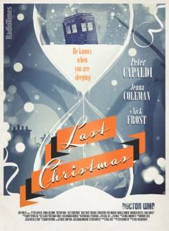 Doctor Who RadioTimes poster 13 Last Christmas