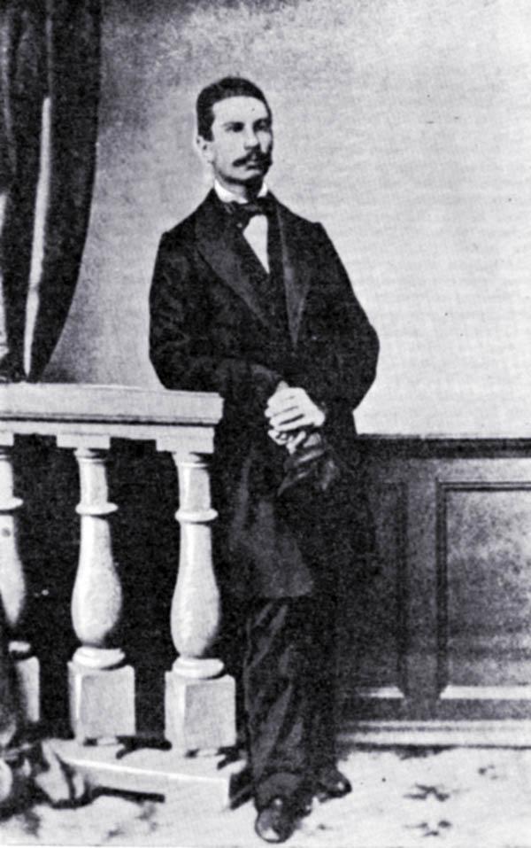 Traugutt w Paryżu, początek września 1863.