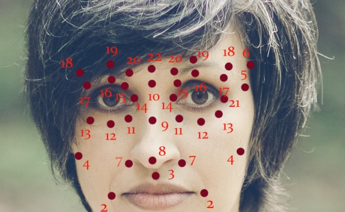punkty marma twarz