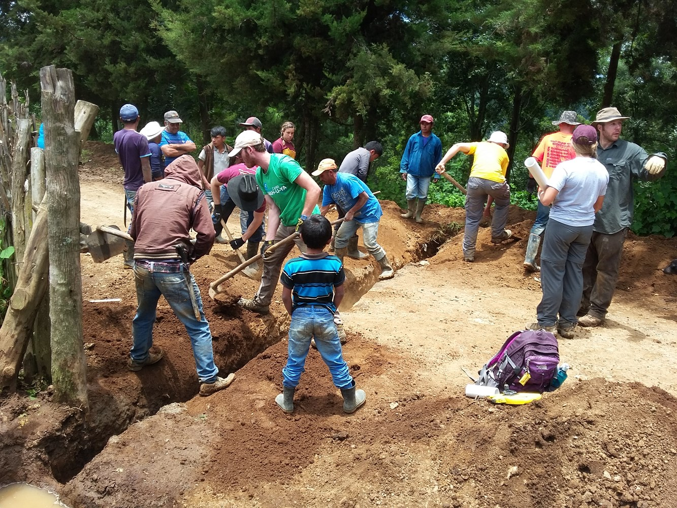 EWB Guatemala project gets engaged with the community!