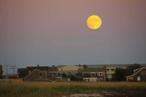 Hunter's Moon at Provincetown