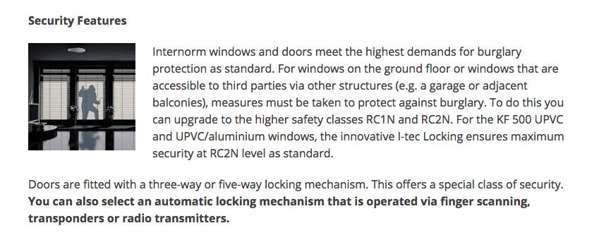Internorm windows, ireland,