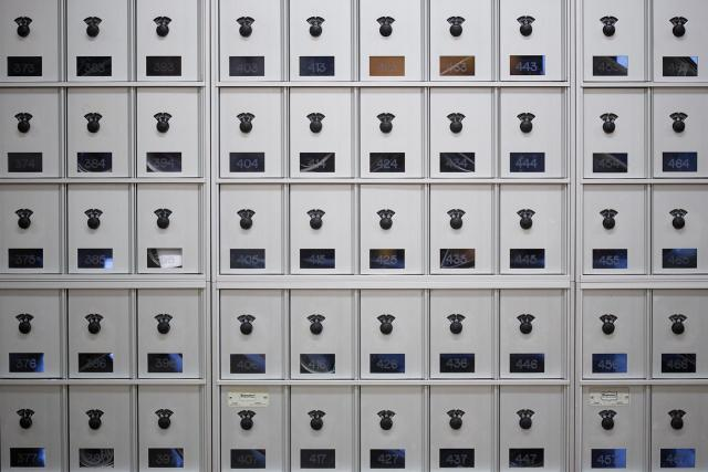 Mailboxes at Hale Manoa