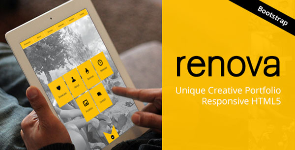 RENOVA - Unique One Page Theme - Responsive HTML5