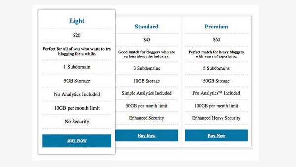 Design a Pricing Plan Using CSS3 in Under 15 Minutes